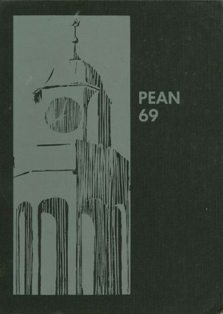 1969 Phillips Exeter Academy Yearbook Cover