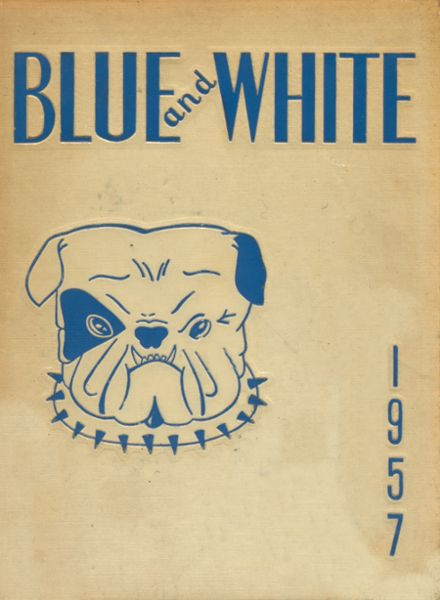 1957 Classical High School Yearbook Cover