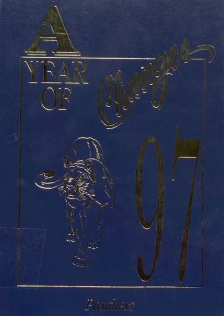 1997 Jal High School Yearbook Cover