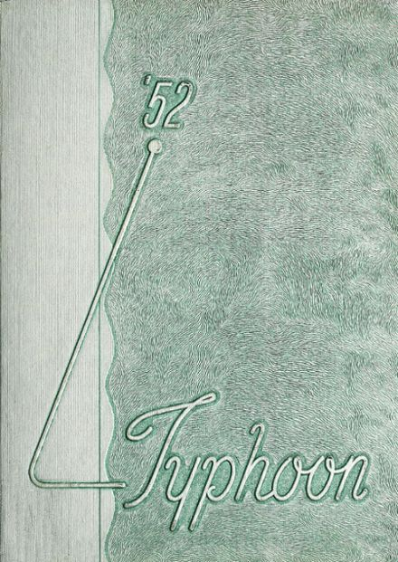 1952 Portland High School Yearbook Cover