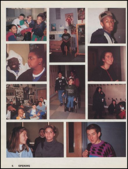 1993 Franklin High School Yearbook Page 8