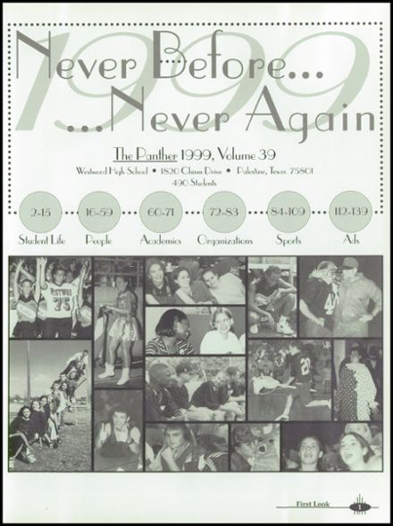 1999 Westwood High School Yearbook Page 5