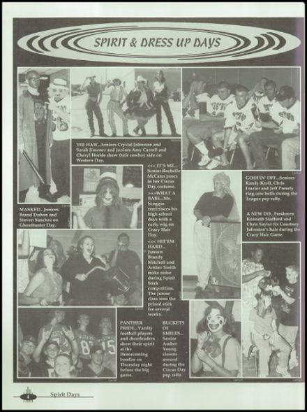 1999 Westwood High School Yearbook Page 8
