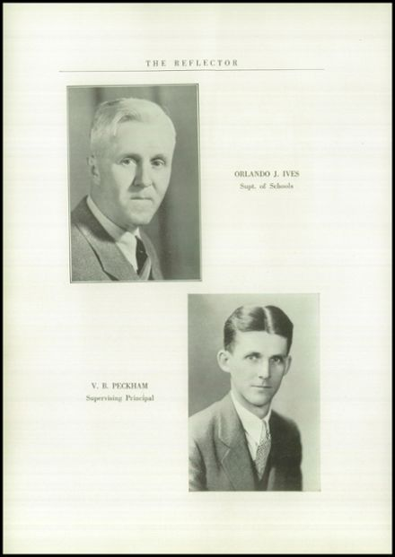 1936 Gilboa-Conesville Central High School Yearbook Page 6