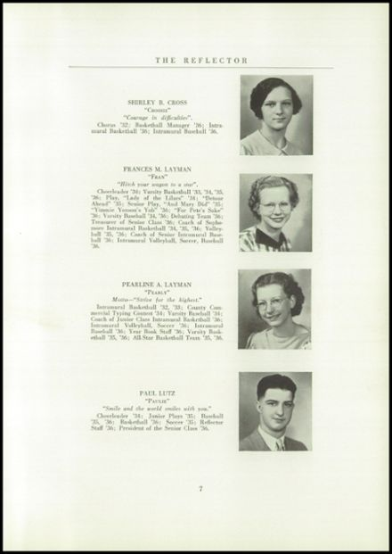 1936 Gilboa-Conesville Central High School Yearbook Page 9