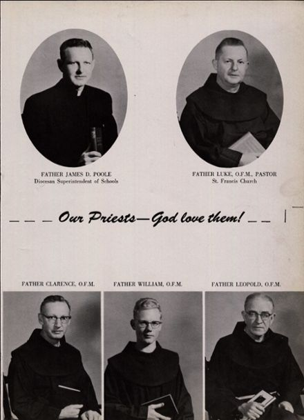 1955 St. Francis High School Yearbook Page 7