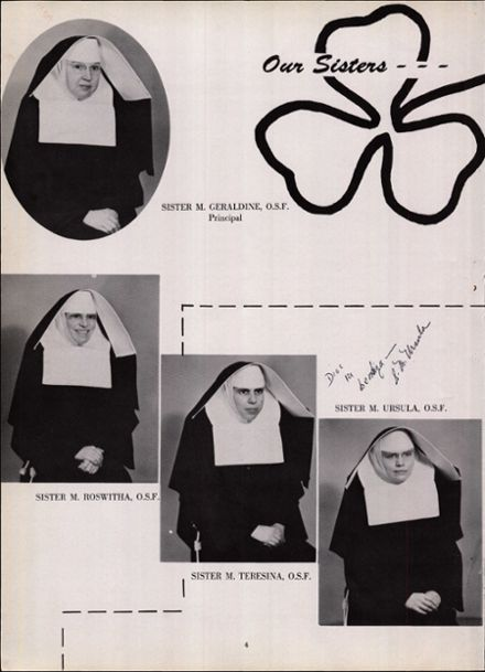 1955 St. Francis High School Yearbook Page 8