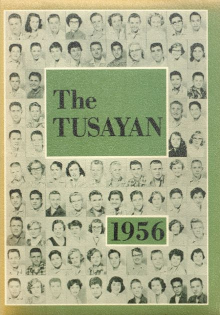 1956 Williams High School Yearbook Cover