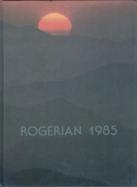 1985 Rogers High School Yearbook Cover