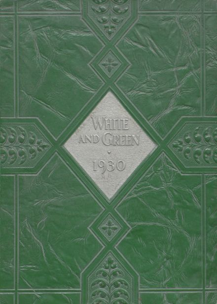 1930 Provo High School Yearbook Cover