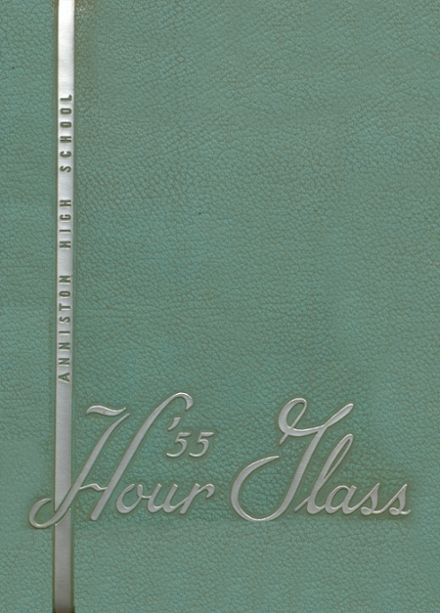 1955 Anniston High School Yearbook Cover