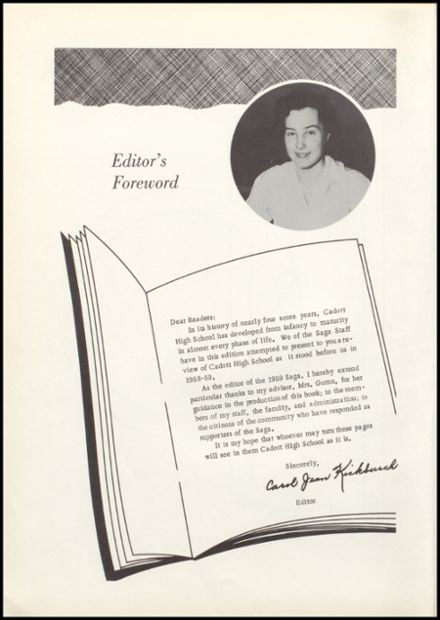1959 Cadott High School Yearbook Page 6