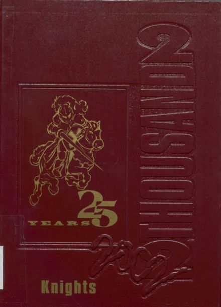 2002 North Valley High School Yearbook Cover