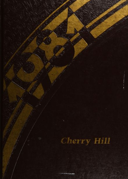 1981 Cherry Hill High School Yearbook Cover