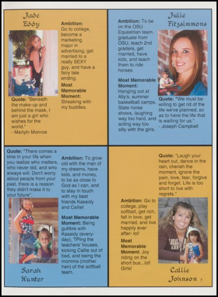 2008 Copan High School Yearbook Page 9