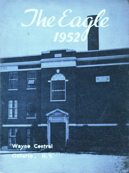 1952 Wayne Central High School Yearbook Cover