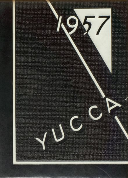 1957 Los Angeles Pacific High School Yearbook Cover