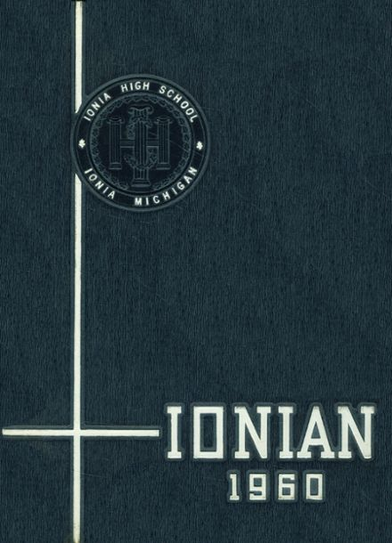 1960 Ionia High School Yearbook Cover