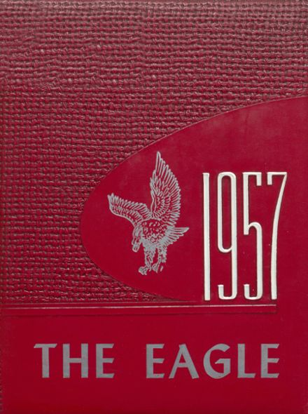 1957 Coldspring High School Yearbook Cover