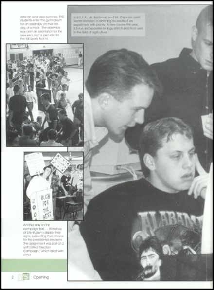 2000 Eureka High School Yearbook Page 6
