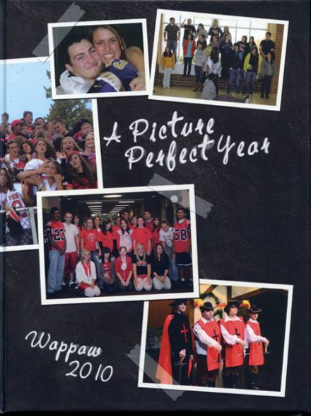 2010 Paw Paw High School Yearbook Cover