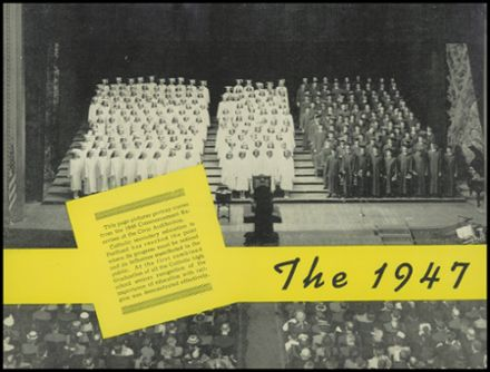 1947 Central Catholic High School Yearbook Page 4