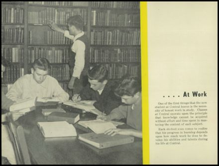 1947 Central Catholic High School Yearbook Page 6