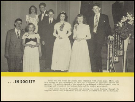 1947 Central Catholic High School Yearbook Page 9