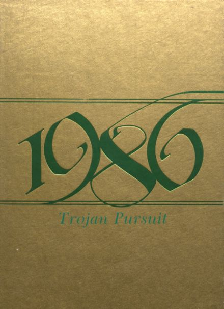 1986 Alleghany High School Yearbook Cover