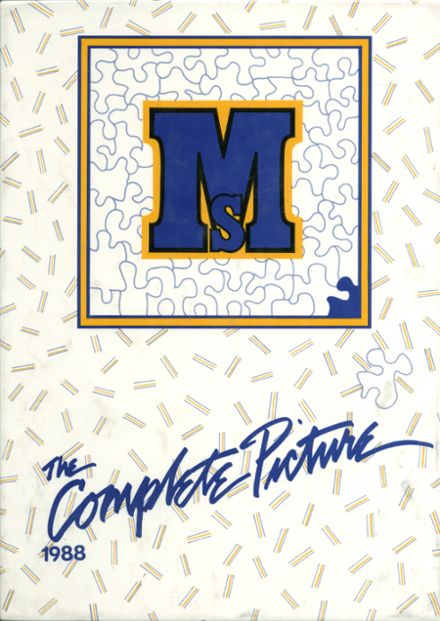 1988 Mary Star of the Sea High School Yearbook Cover