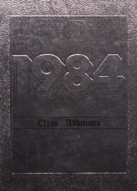 1984 Independence Christian High School Yearbook Cover