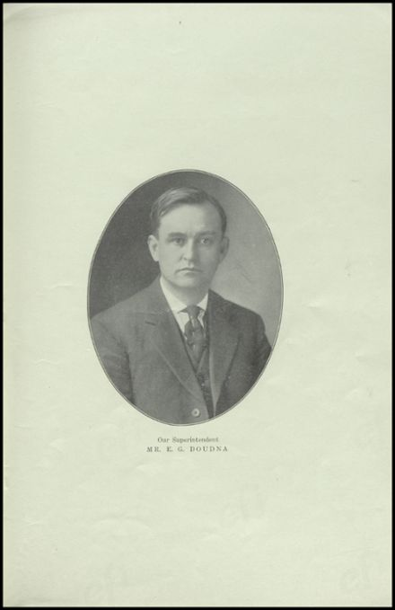 1912 Richland Center High School Yearbook Page 9