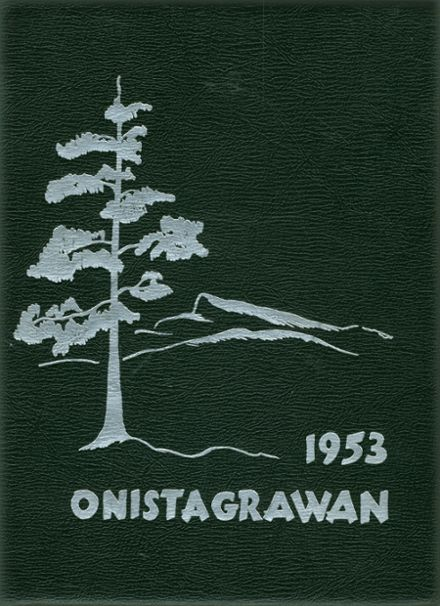 1953 Middleburgh Central High School Yearbook Cover
