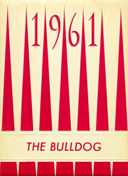 1961 Hi Plains High School Yearbook Cover