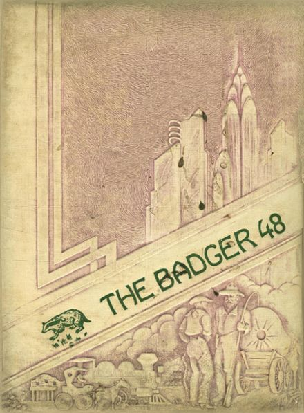 1948 Bishop High School Yearbook Cover