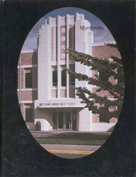 1979 Gresham High School Yearbook Cover