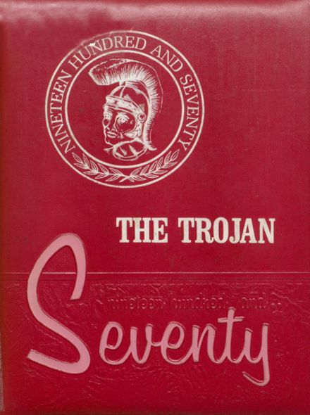 1970 Coldspring High School Yearbook Cover