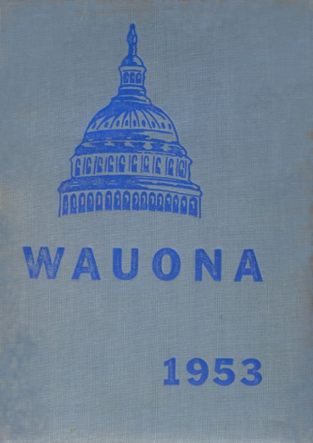 1953 Portage High School Yearbook Cover