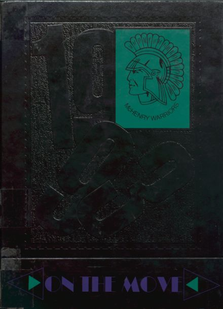 1993 McHenry Community High School Yearbook Cover