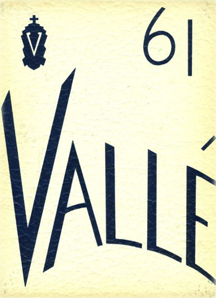 1961 Valle Catholic High School Yearbook Cover