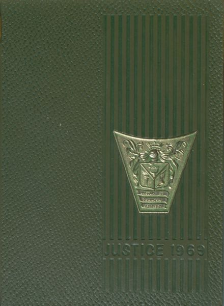 1969 Holmes High School Yearbook Cover