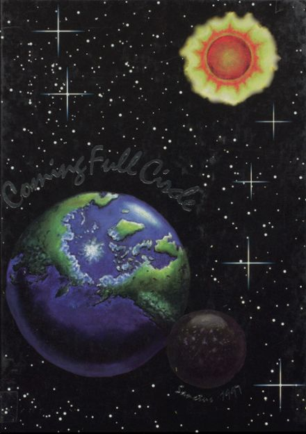1997 Seattle Lutheran High School Yearbook Cover