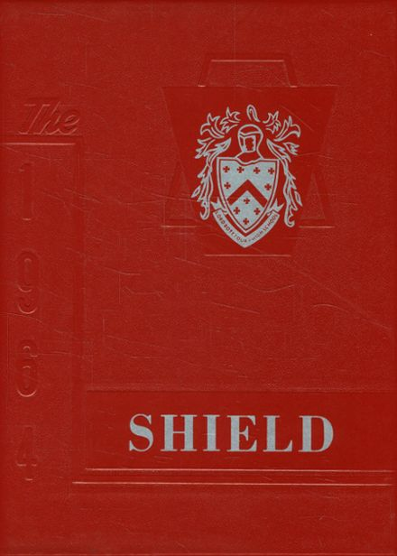 1964 Lord Botetourt High School Yearbook Cover