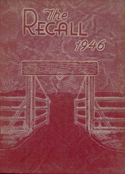 1946 Union High School Yearbook Cover