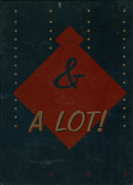 1988 St. Paul High School Yearbook Cover
