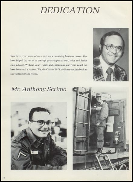1978 Hudson Falls High School Yearbook Page 6