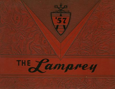 1957 Newmarket High School Yearbook Cover