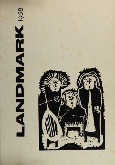 1958 Abraham Lincoln High School 410 Yearbook Cover