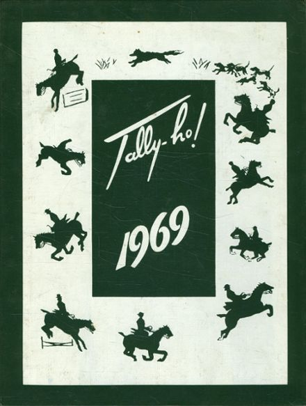 1969 Foxcroft High School Yearbook Cover