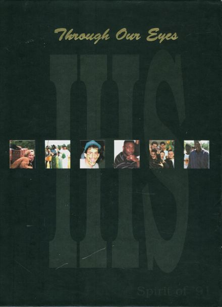1991 independence high school yearbook cover